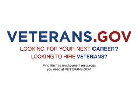Veterans . Gov logo