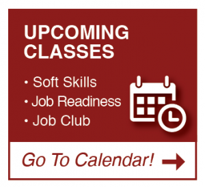 upcoming classes calendar logo