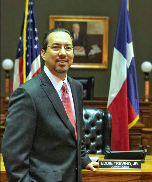 Image of Brownsville County Judge Eddie Trevino